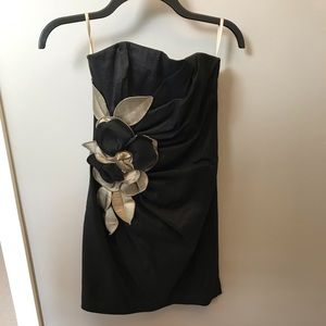 Cache Mini Dress with Flower